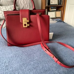 Marc Jacobs Leather Satchel/Crossbody Bag